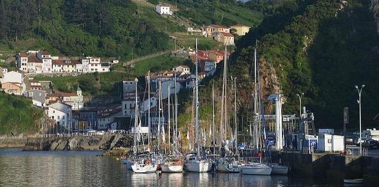 La 'Navega el Camino' pixueta entre Asturias y Galicia