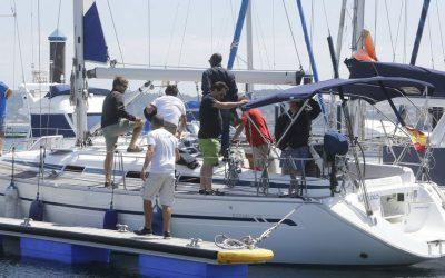 Treinta barcos y 120 tripulantes llegan el lunes en la ruta de Navega el Camino