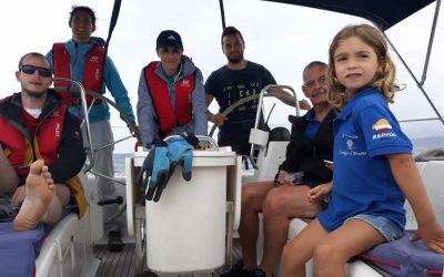 La III Travesía 'Navega el Camino' visita la Mariña Lucense