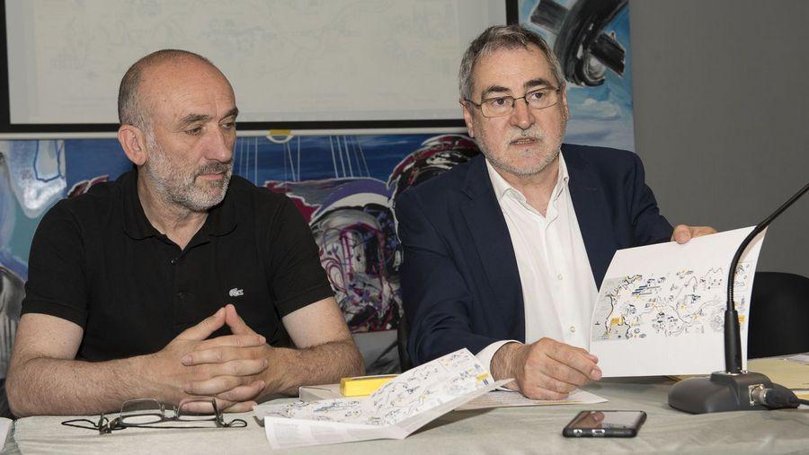 Correos presenta un nuevo mapa para promocionar el Camino a Fisterra y Muxía