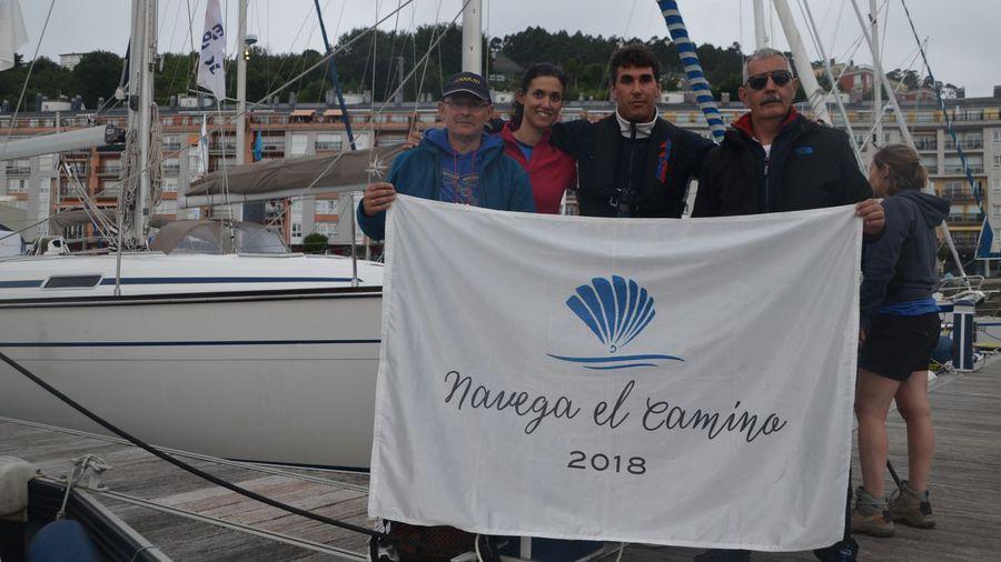 Los navegantes del Camino llegan este lunes a Cedeira