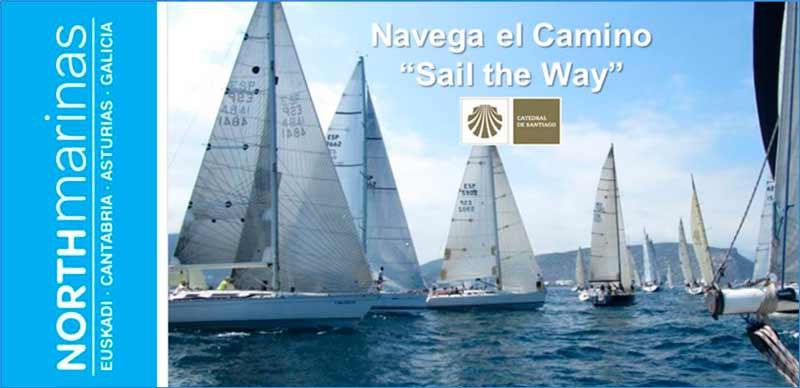 """""""Navega el Camino"""", nova ruta xacobea de navegación a vela"""