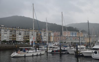 """Los peregrinos marinos de """"Navega el Camino"""" llegaron ayer a Viveiro"""