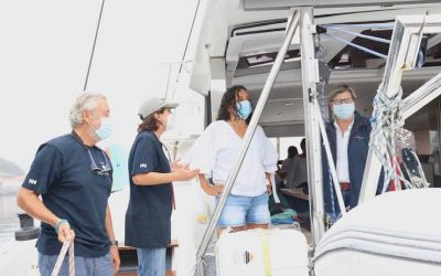 La Xunta insiste en el camino a Santiago por mar para la reactivación de la náutica recreativa